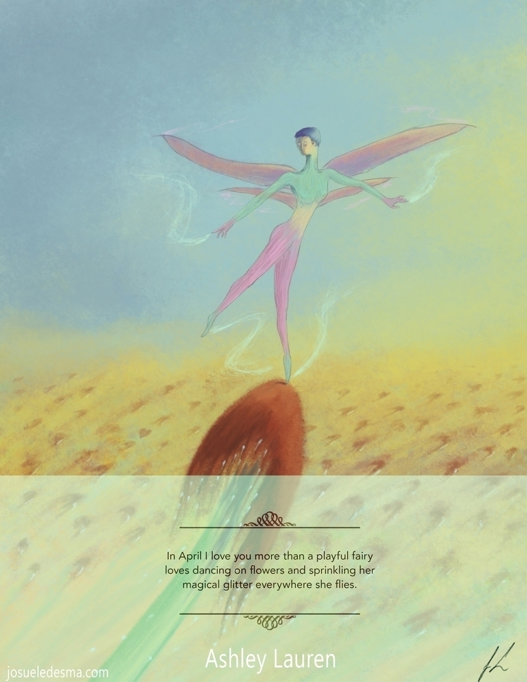 'April' Month Love book featuri - jl_illustration | ello