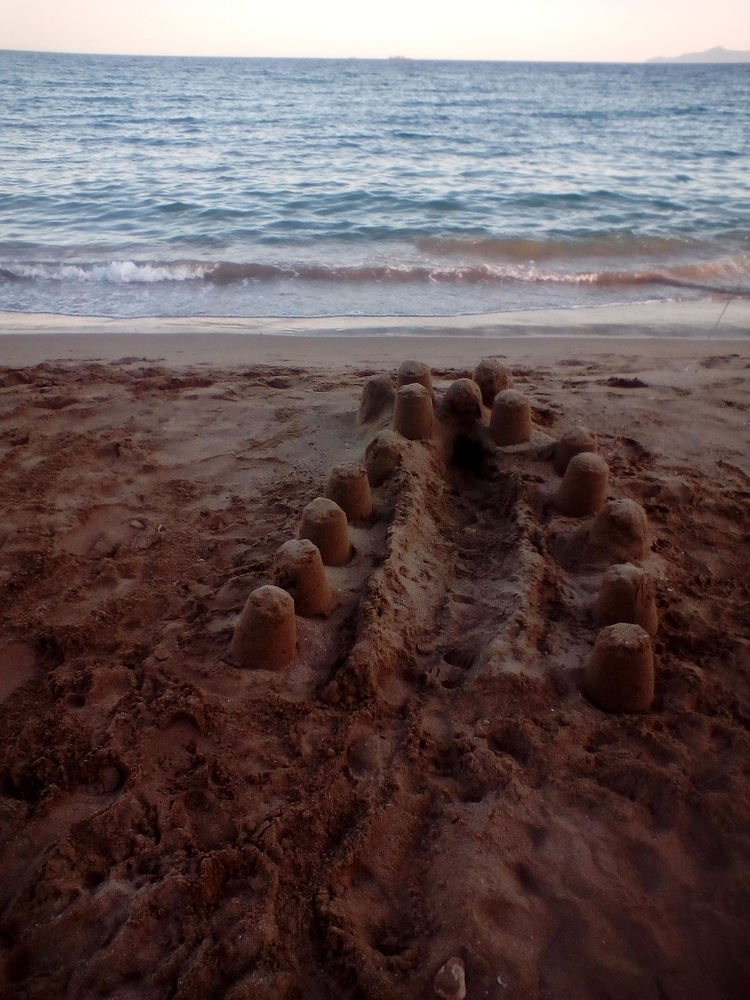 castles sand stay standing - christinamadart | ello