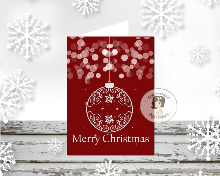 Christmas Printable Card Fronts - snappymarie   ello