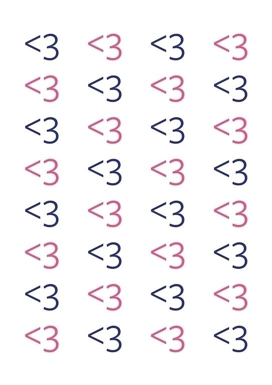 <3 - heart, digitalartwork, typography - nnkstll   ello