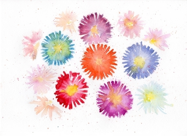 Beautiful flower bouquet art  - flowers - seamlessdigital | ello