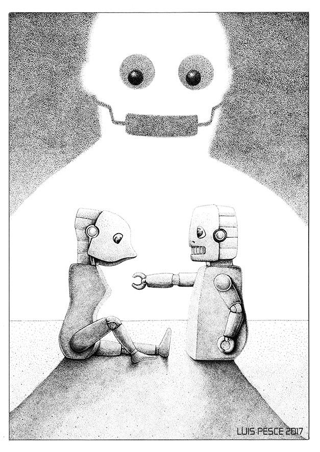 02 - Adamo Eiva - art, robot, illustration - luispesce   ello