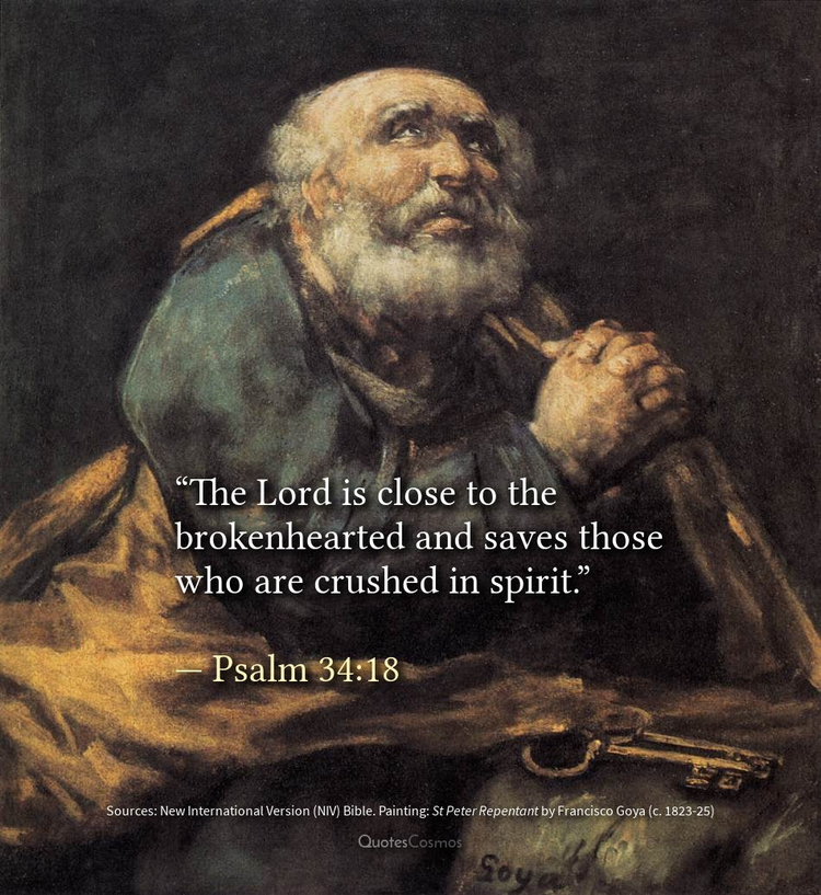 Lord close brokenhearted saves  - quotescosmos   ello