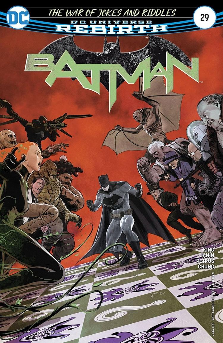 Batman Review War Jokes Riddles - comicbuzz | ello