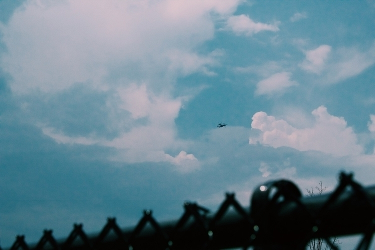 Fly - sky, airplane, clouds, photography - gpinkney | ello