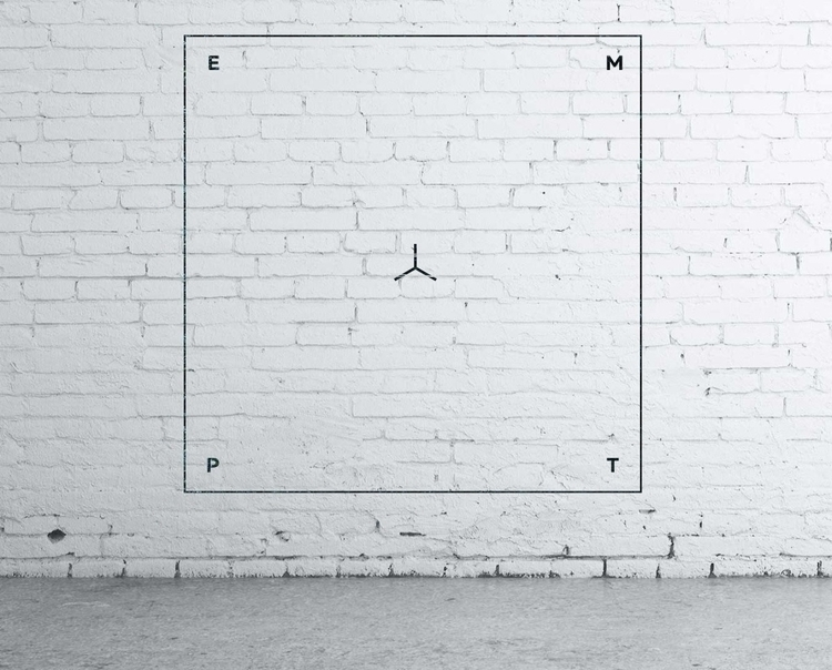 Empty. Wall graphic. - symbol d - gladcow | ello