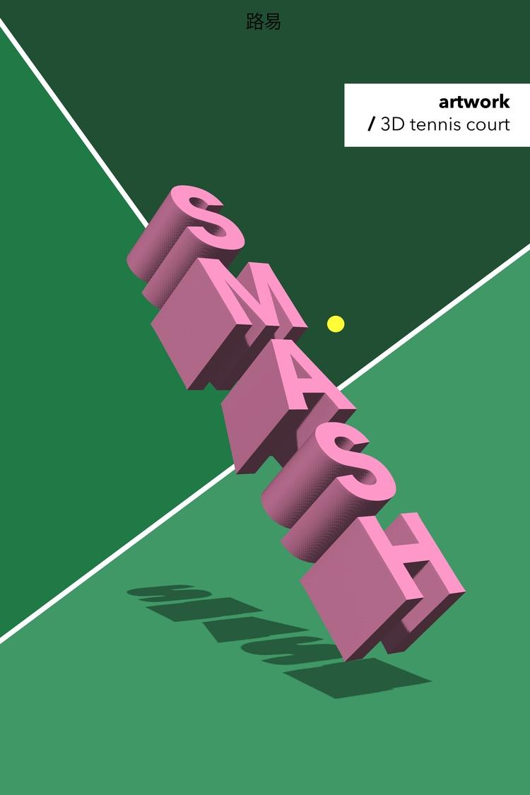 3D Tennis Court - thalebe | ello