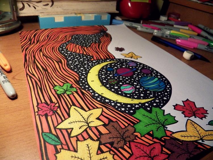 Dibujo en proceso - drawing, artwork - antonellietta | ello