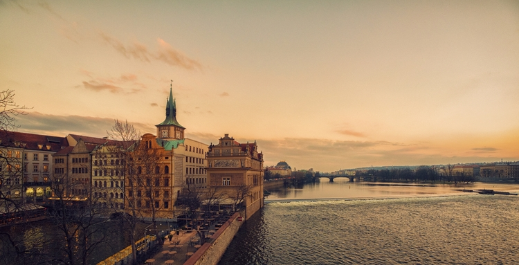 River - Prague, Czech Republic  - juangonzalez | ello