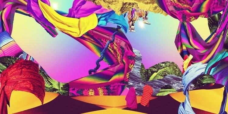 chasing image, Unpublished - collage - carolinanino   ello