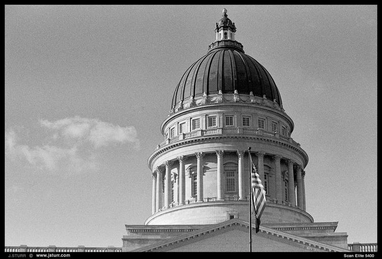 SLC Capitol - shot Nikon F100 F - jsturr | ello