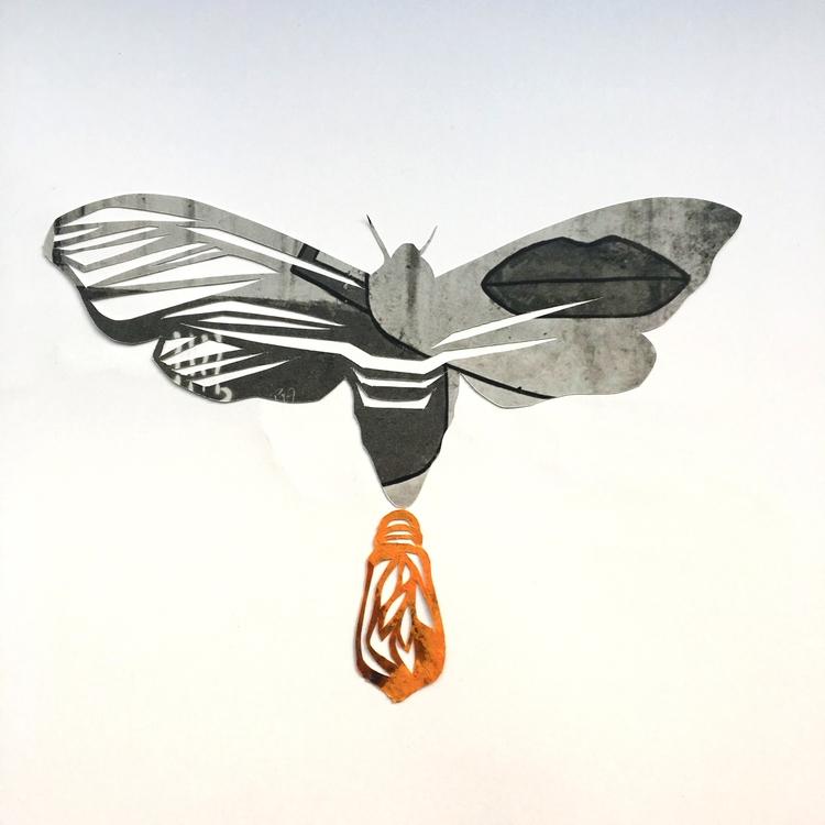 Playing Firefly paper acrylics - marcogallotta | ello