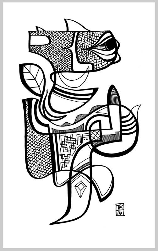 Moods Todd Kurnat, 15x25 Sharpi - inkletterman | ello