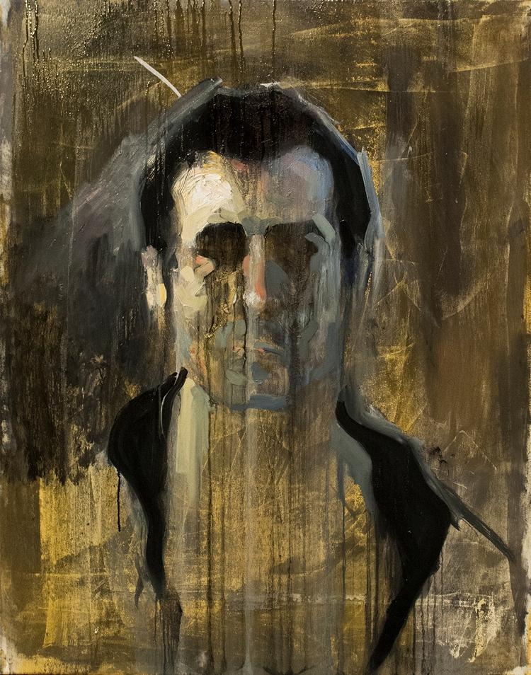 Untitled Portrait) / Oil Canvas - armandocabba | ello