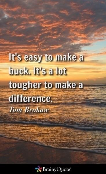 easy buck. lot tougher differen - ericpena | ello