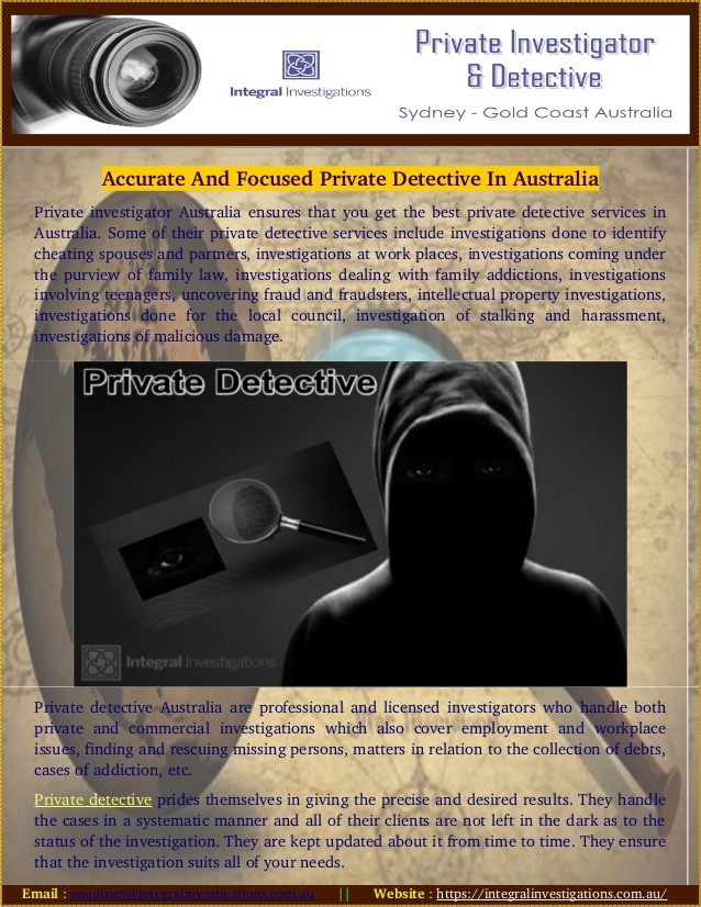 chance meet Meet - PrivateDetective - integralinvestigations | ello