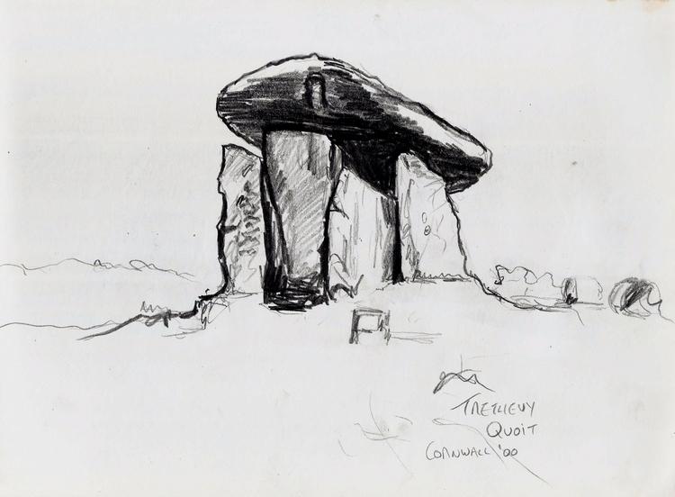 Trethevy Quoit Dolmen, Cornwall - codfishwabb   ello