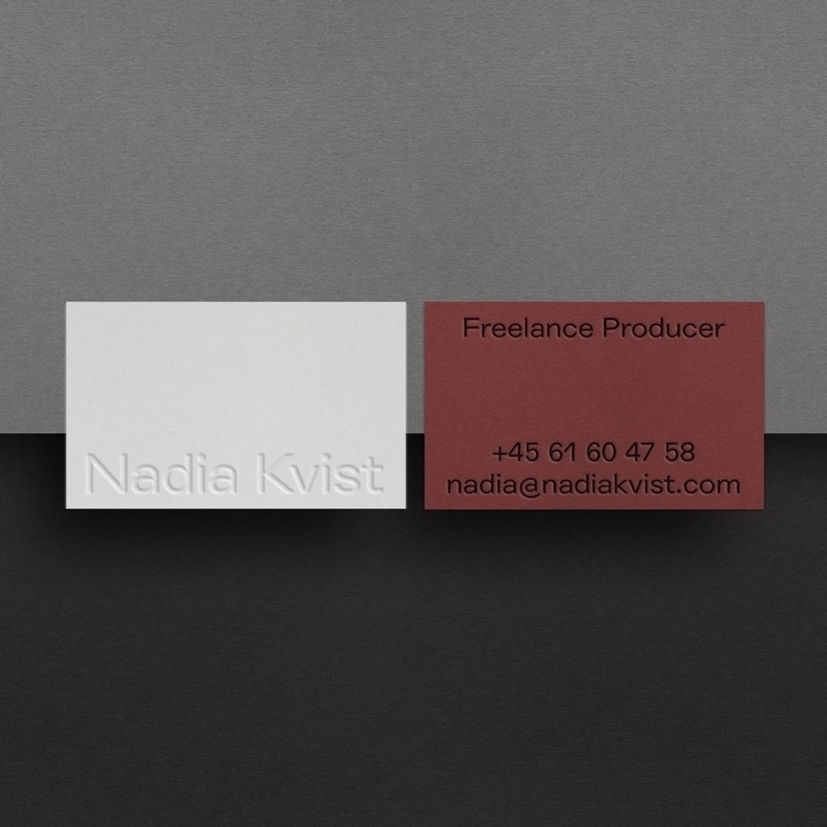 Print Ready - businesscard, print - studiospgd | ello