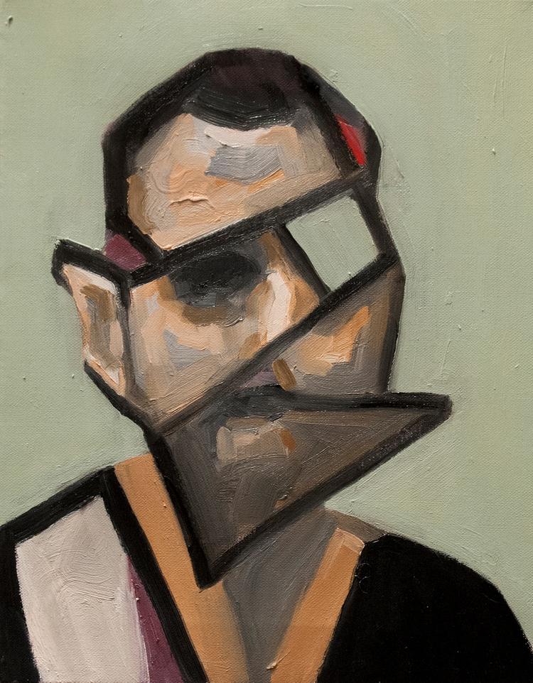 Vibrate Portrait) / Oil Canvas  - armandocabba | ello