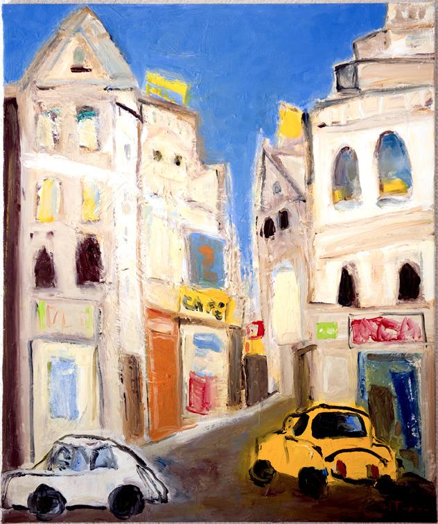 Rue de Seine, Paris - oil canva - nealturner | ello