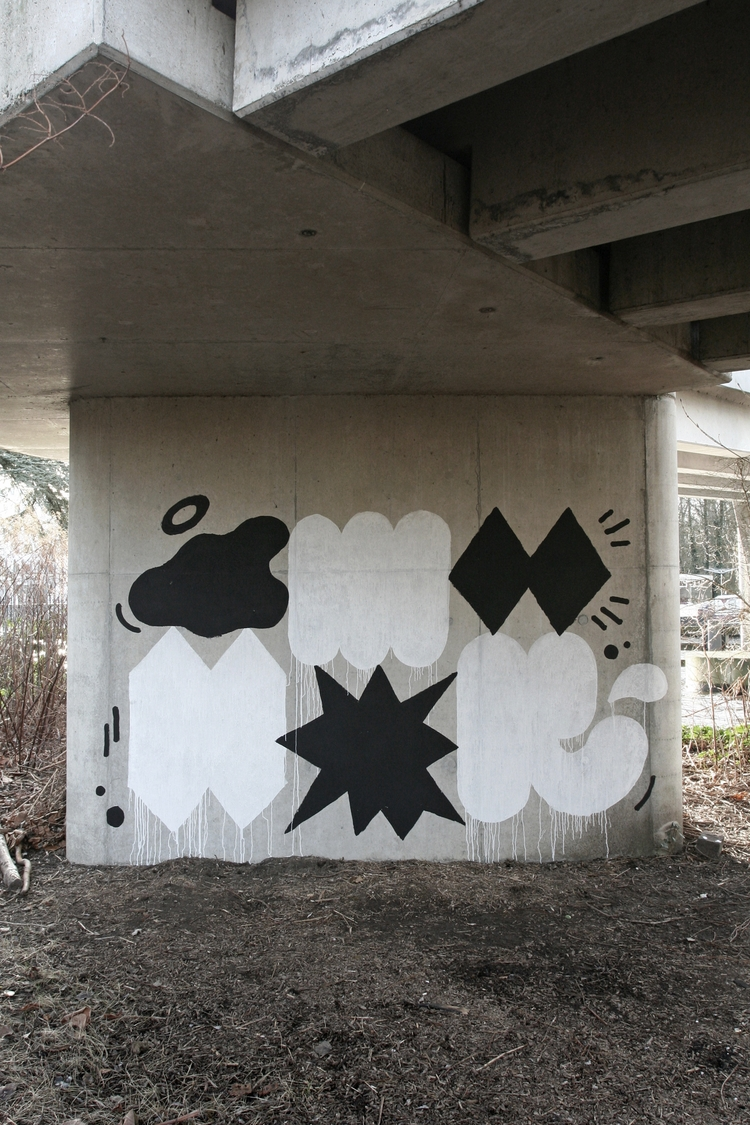 Amsterdam - abstract, throwups - frisoblankevoort | ello