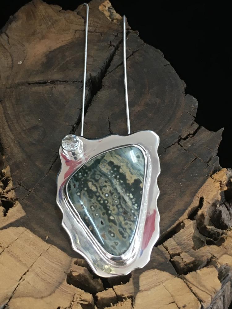 Ocean Jasper White Topaz - desertnightsstudio - desertnightsstudio | ello