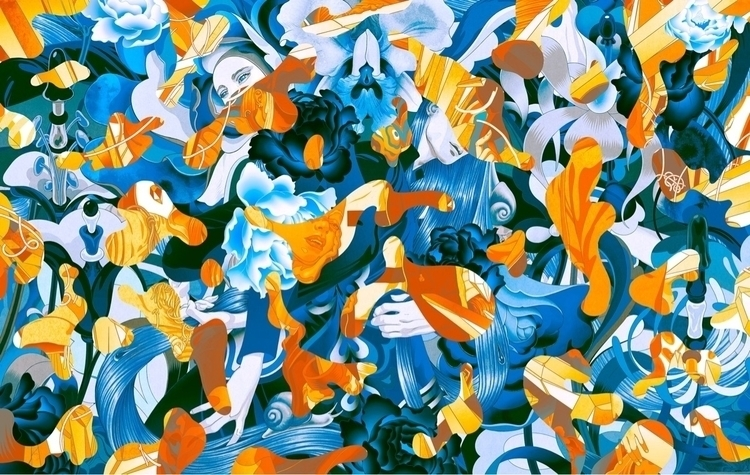 Interstices. Joyce HK FW17 - jamesjean | ello