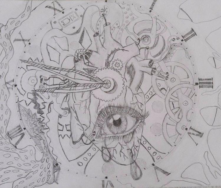 Sorrow. :) ---&gt - feelings, paper - sixledg3r | ello