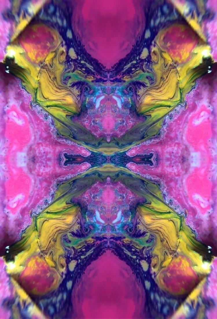 flow, trippy, paint, kaleidoscope - trillianmann | ello