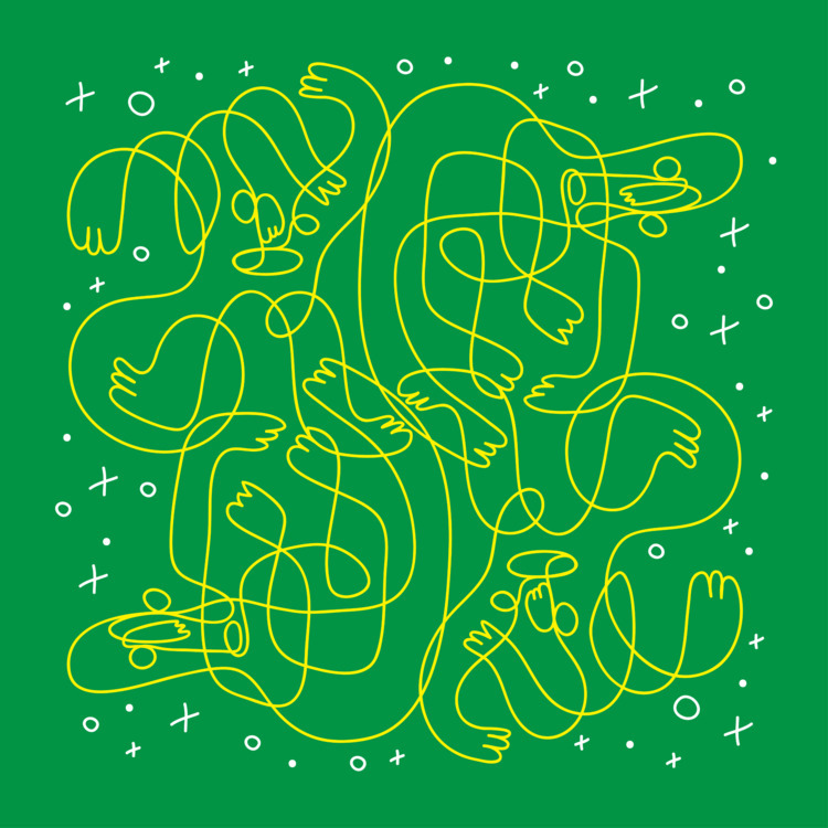 doodle, drawing, oneliner, minimalism - gueroguero | ello