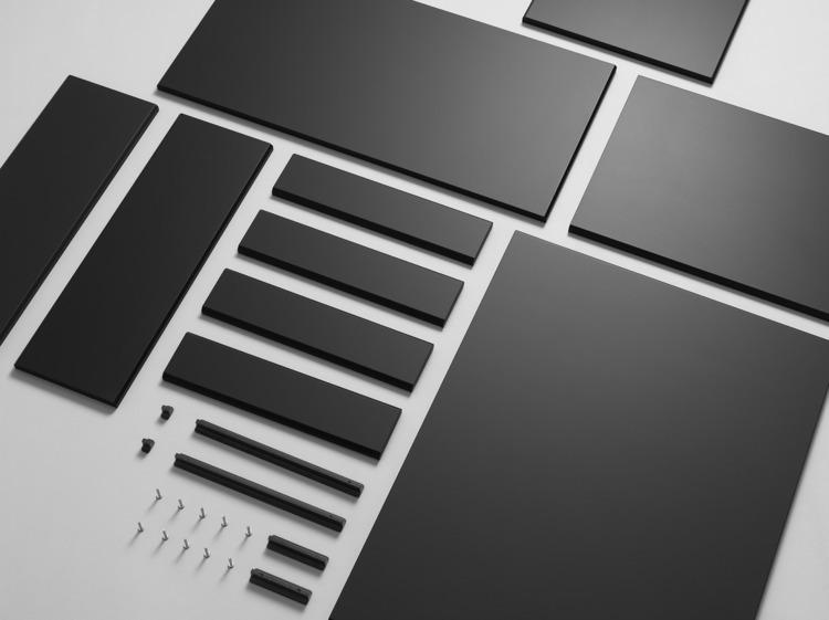 Design: Kungsbacka Ikea - minimalist | ello