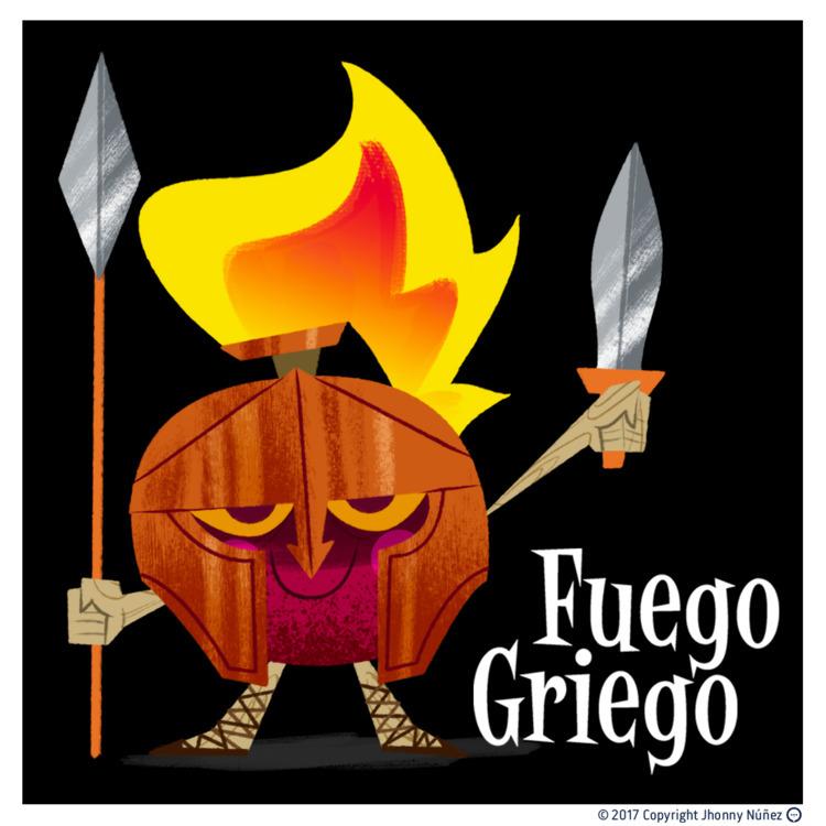 Guego Griego - JhonnyNúñez, Illustration - dblackhand | ello