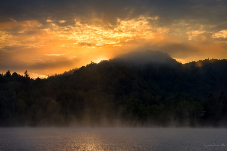 Sunrise, 4th Lake, Adirondacks - joemeirose | ello