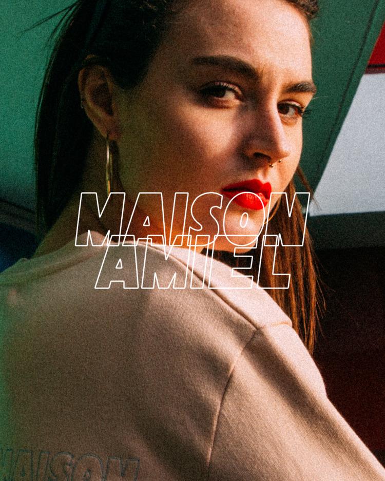 Typography Maison Amiel French  - lencreur | ello