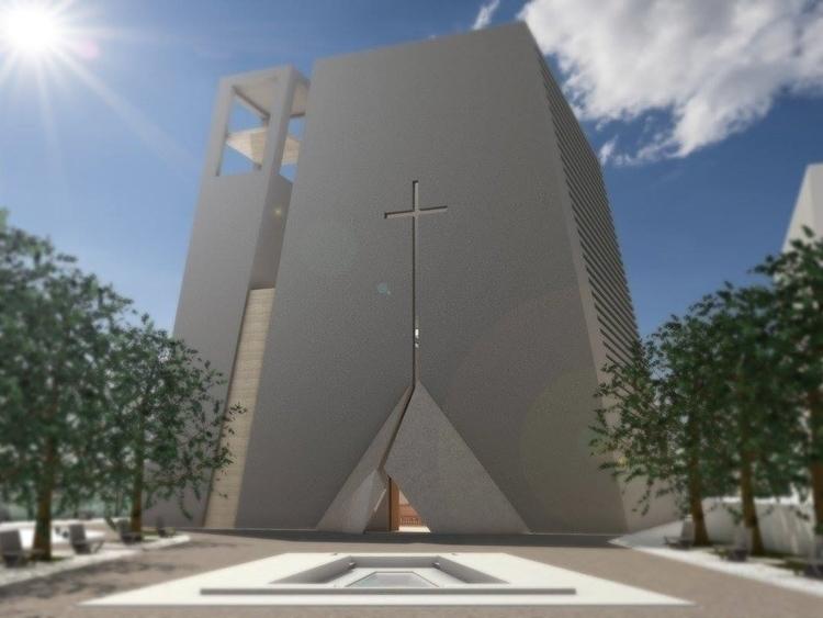 Project religious building Pesc - pierluigipacearchitecture | ello