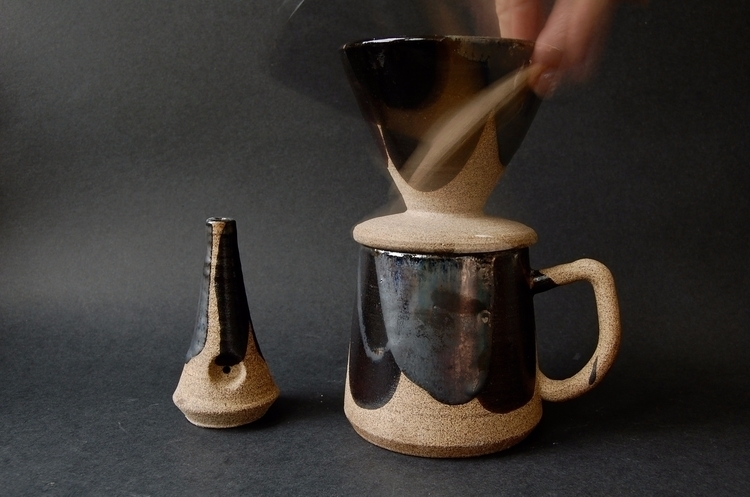 Coffee Dripper Wake Bake set - bowl - mrschachter | ello