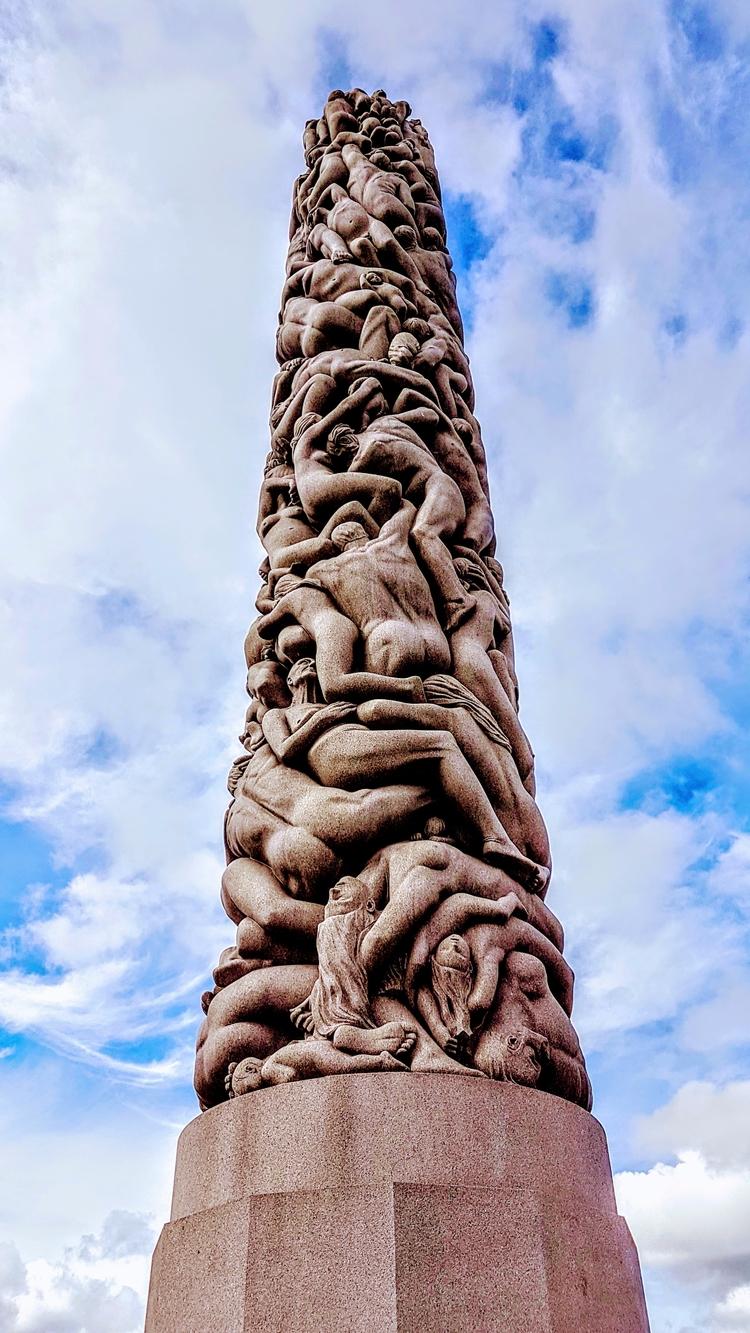 sculpture Vigelandpark Oslo - oslo - rockedly | ello
