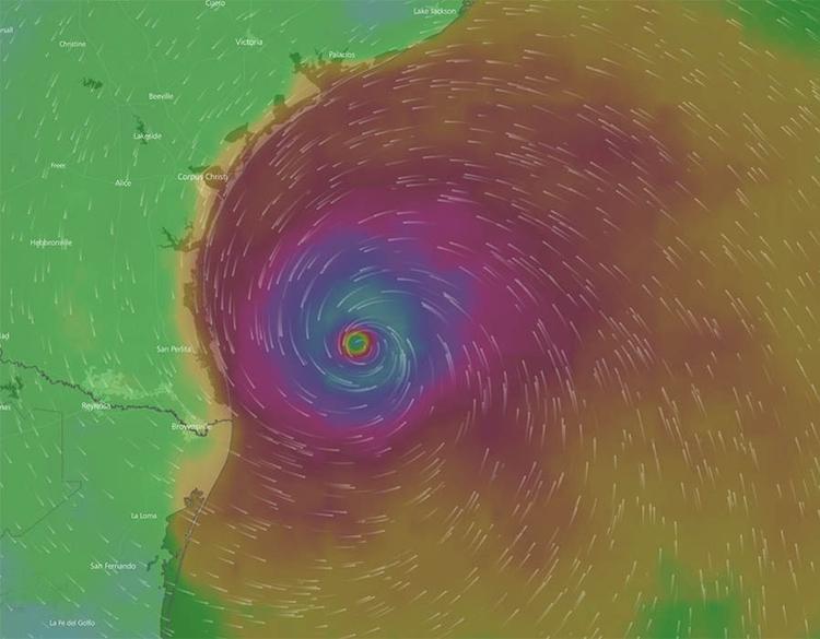 Running Hurricane Rita intense  - dave63 | ello