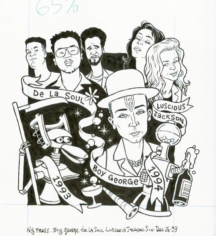 Year Roundup, De La Soul, Lusci - dannyhellman | ello