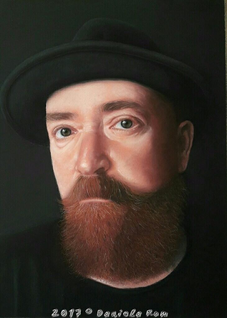 Portrait 55x40 Sennelier Pastel - daniela_rum | ello