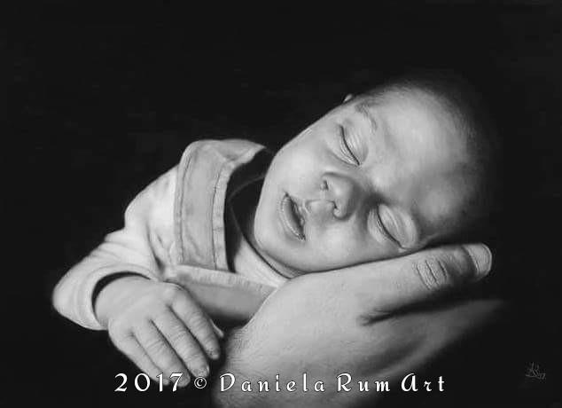 Portrait Soft Pastels Pastelmat - daniela_rum | ello
