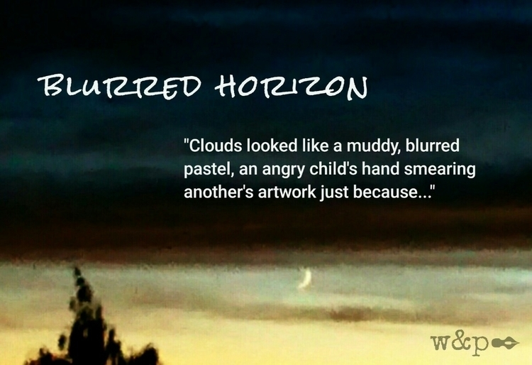 > Blurred Horizon sunset ton - whiskeyandpens | ello