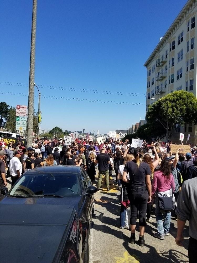 20,000 SF countering alt-reich  - anarcho-vegan | ello