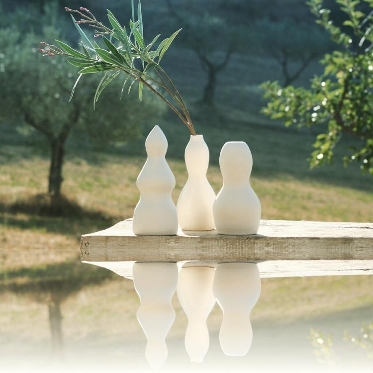ceramic, vessels, white, travel - inconsistenza | ello