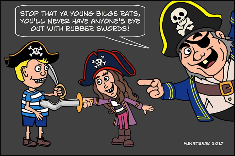 based flipping logic - pirates, eyepatch - rickatkinson | ello
