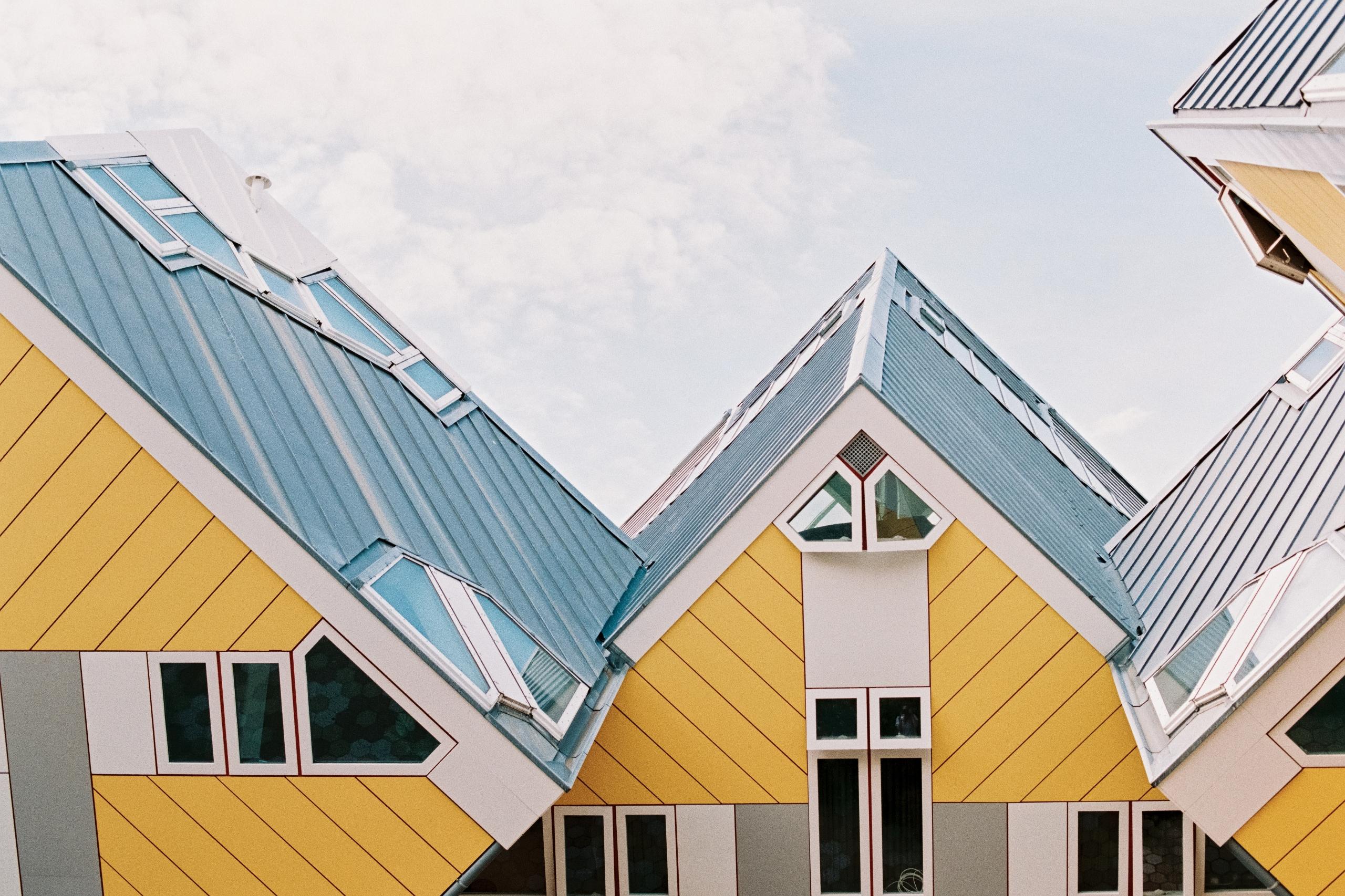 Kubuswoningen (Cube Houses) Rot - michelleamock | ello