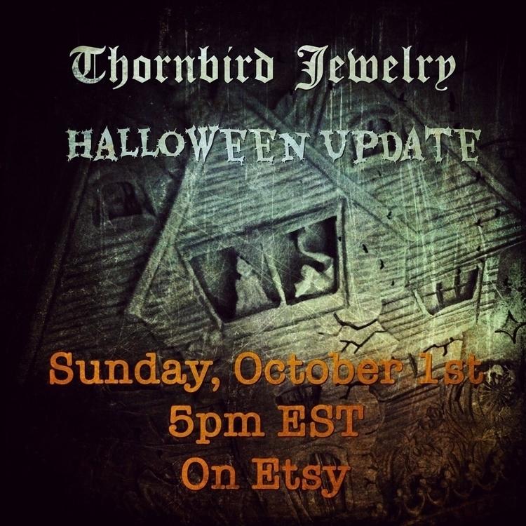 Mark calendars! Halloween Etsy  - thornbird | ello