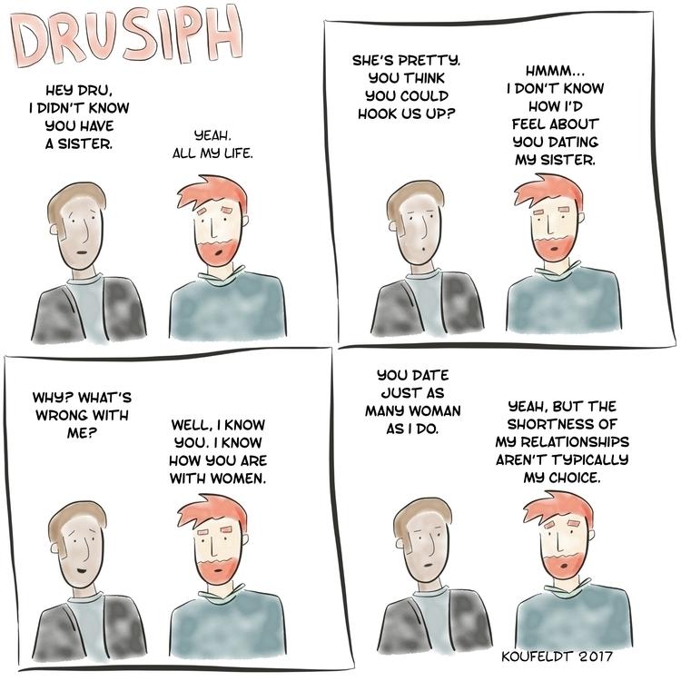 monday, drusiph, comics, comicstrip - drusiph | ello