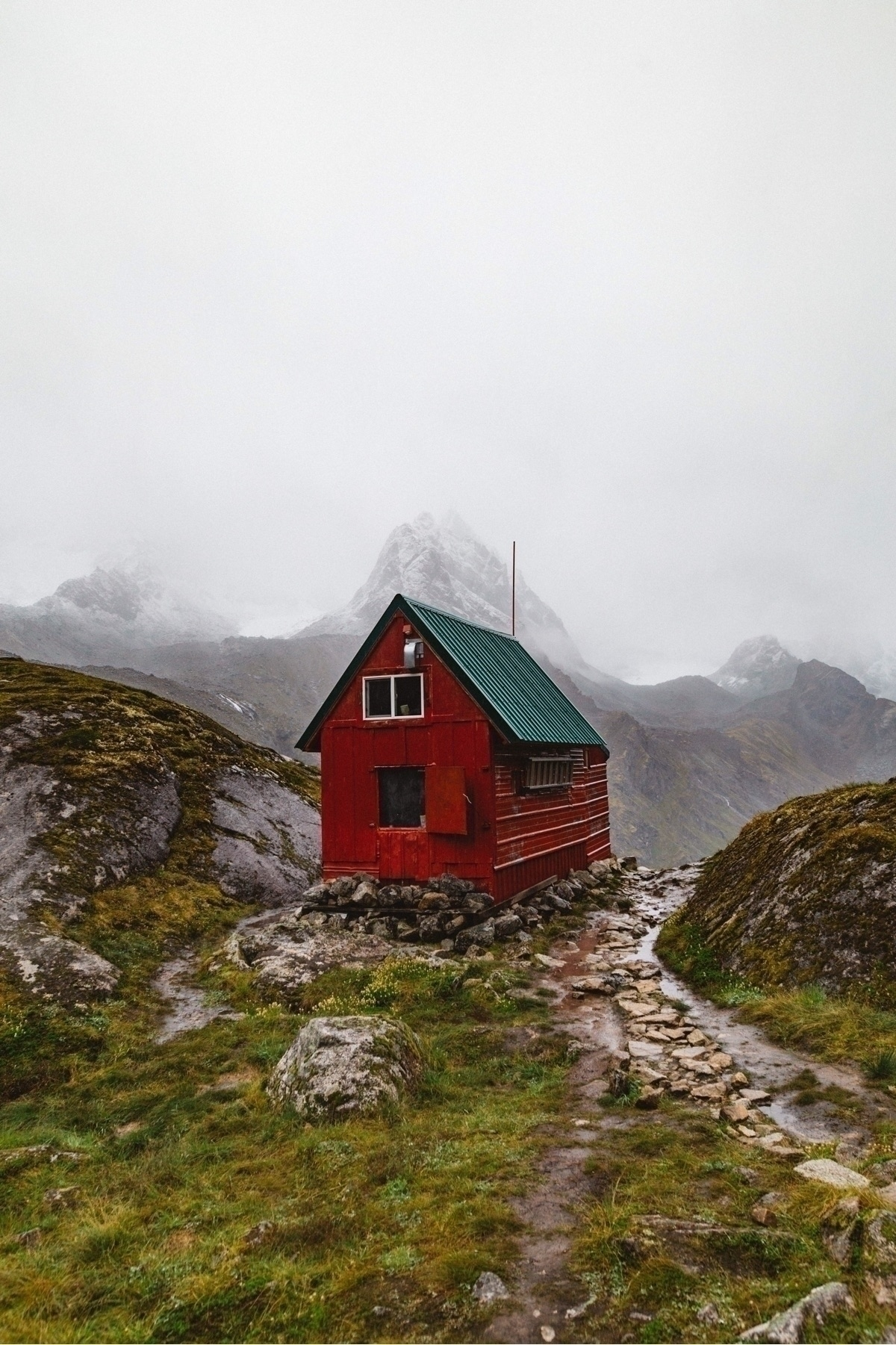 Mint Hut Talkeetna Mountains, A - connorgrasso | ello