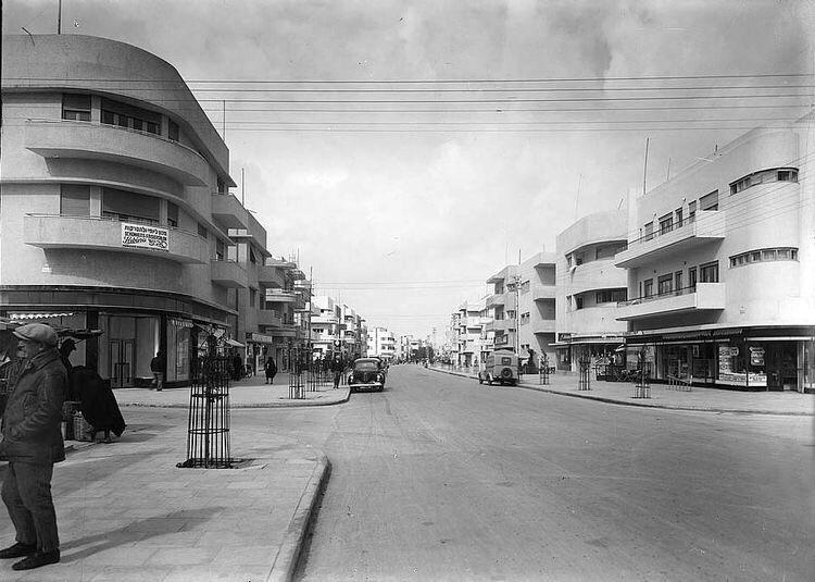 Tel Aviv White City) Bauhaus Ar - bauhaus-movement | ello